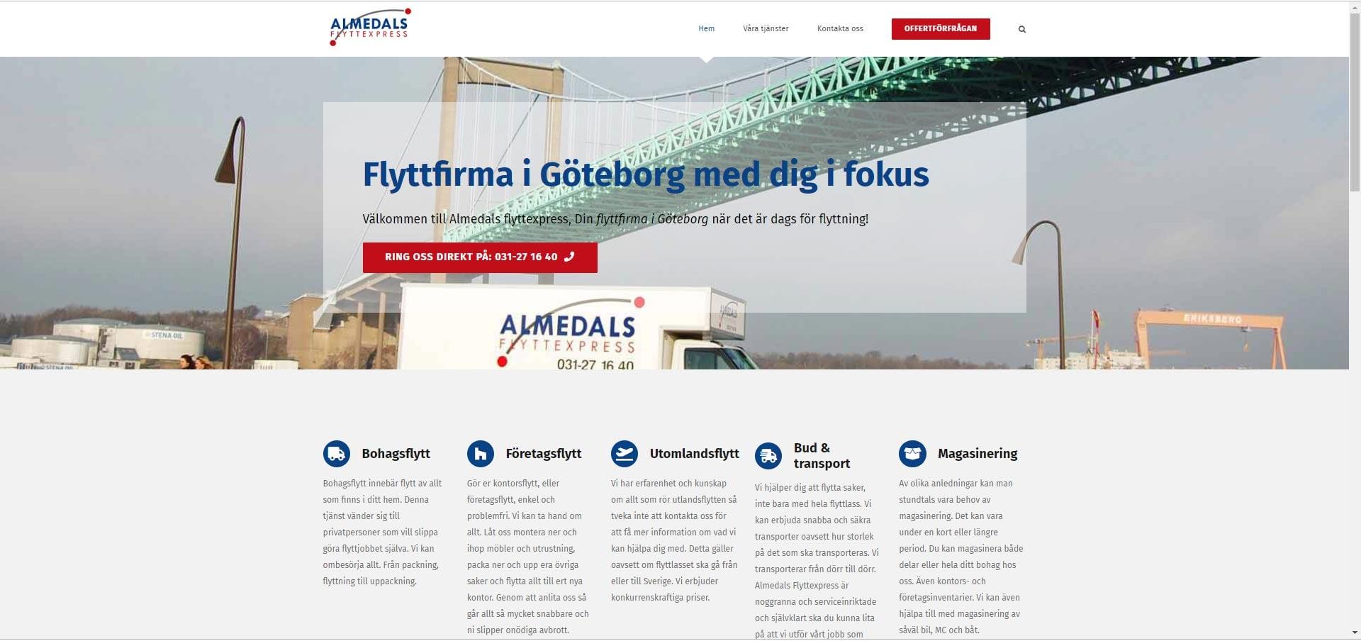 Almedals Flyttexpress