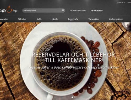 Ny desig till kaffe-rep.se