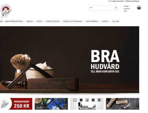 Killfejset.se – Layout, grundläggande SEO och rådgivning